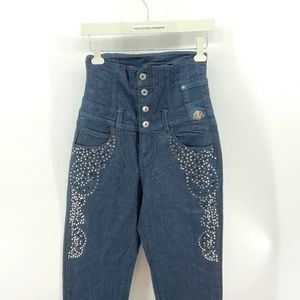 Unique DEREON HIGH WAISTED SKINNY JEANS